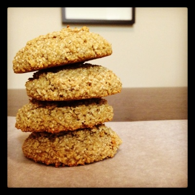 REALLY Low-Carb Oatmeal Cookies