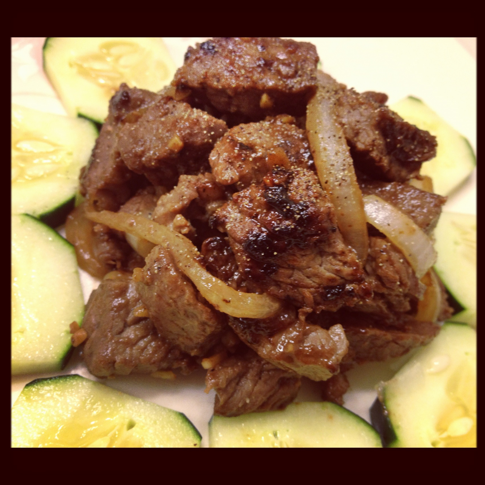 Vietnamese Shaking Beef / Bo Luc Lac – Dukantopia